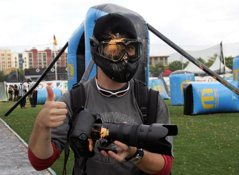 Paintball Photography hazards . -- Sports in photography-on-the ...