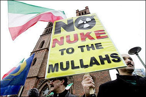 irannukeprotestberlinweb0tg Iran Nuclear Watch: Iran   United States Offer to Join Talks is A Propaganda Move.